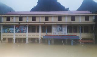 Mưa lũ phức tạp, học sinh toàn tỉnh Quảng Bình nghỉ học từ hôm nay