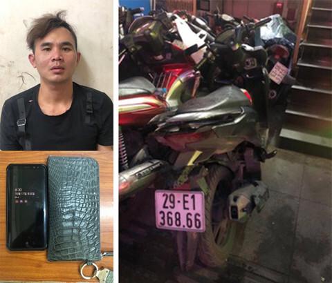 Thanh niên giả làm xe ôm 'hành nghề' cướp giật tài sản