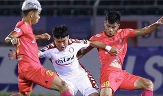 Níu chân nhau ở trận derby, Sài Gòn FC và TP HCM xa dần giấc mơ vô địch