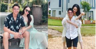 Matt Liu - Hương Giang tung loạt ảnh hẹn hò cực ngọt