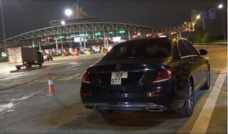 Phạt tài xế Mercedes phóng 'bạt mạng' 199km/h trên cao tốc Pháp Vân - Cầu Giẽ