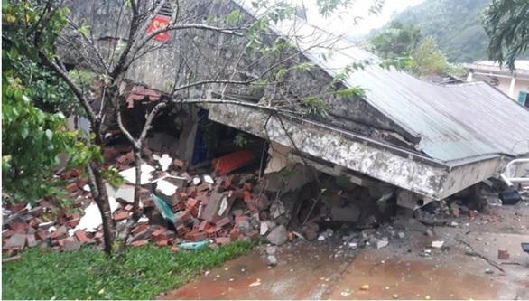 Hiện trường vụ sạt lở kinh hoàng ở Đồn Biên phòng Cha Lo