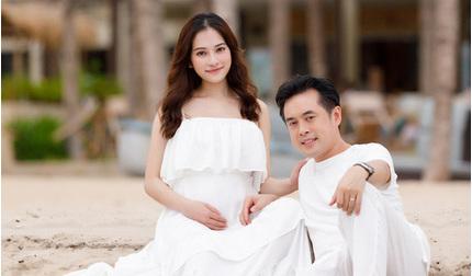 Vợ chồng Dương Khắc Linh hạnh phúc đón cặp song sinh