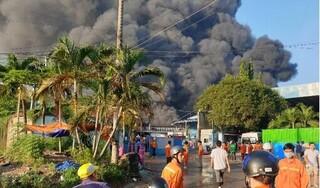 Công ty xử lý mội trường tại Bình Dương đang chìm trong biển lửa