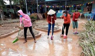Sáng nay, học sinh 270 trường ở Hà Tĩnh đi học trở lại