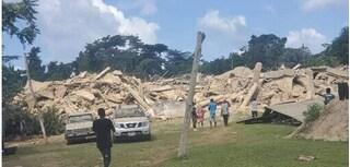 Sập nhà thờ 3 tầng ở Ghana khiến ít nhất 18 người thiệt mạng