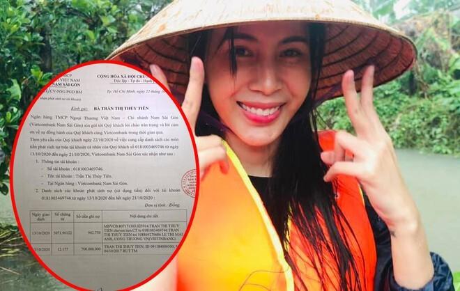 Thuỷ Tiên công khai bảng sao kê ngân hàng đợt một, tiết lộ 'ăn không ngon ngủ không yên' khi giữ tiền