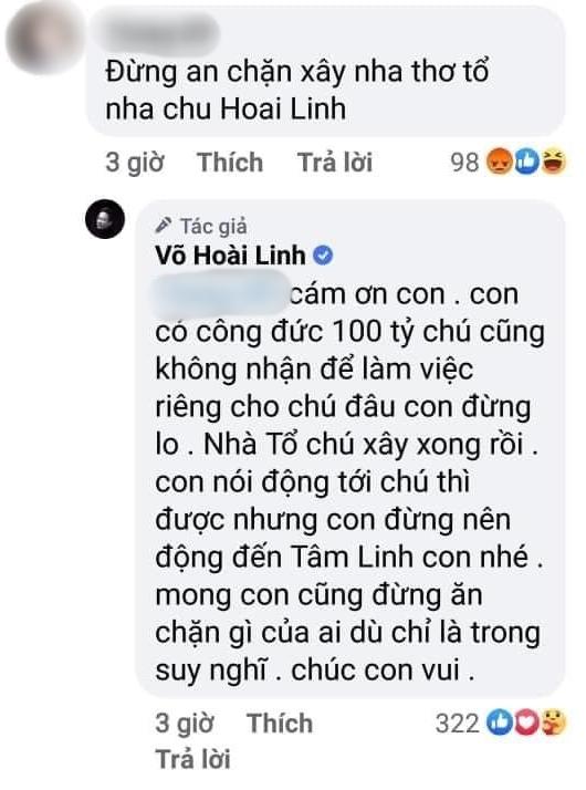 Hoài Linh lên tiếng đáp trả khi bị nói 'ăn chặn' tiền từ thiện để xây đền Tổ