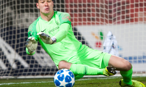 Trang chủ UEFA ngợi khen thủ môn Filip Nguyễn