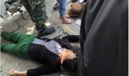 Người phụ nữ bị cướp giật túi xách ngã xuống đường chấn thương nặng