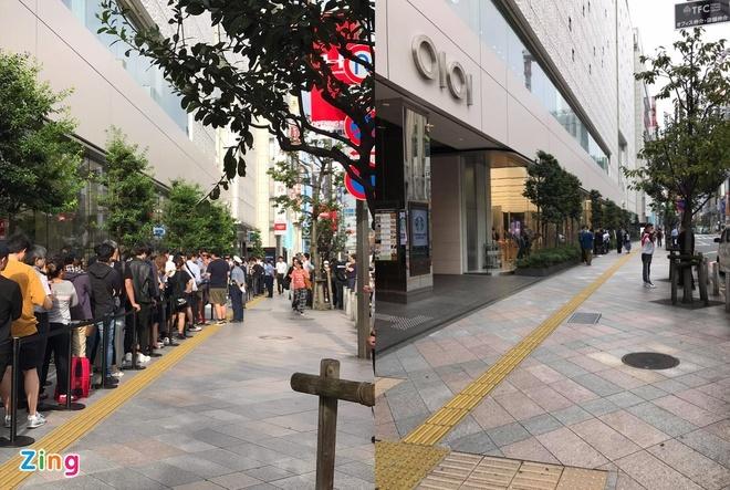 Apple Store vắng vẻ trong ngày đầu tiên mở bán iPhone 12.1