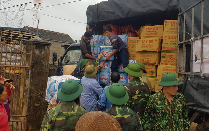 Quảng Bình: Còn hơn 1.000 ngôi nhà đang ngập trong nước lũ và 4.000 hộ dân chưa thể trở về nhà