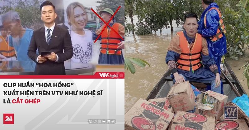 VTV lên tiếng vụ Huấn Hoa Hồng trao quà từ thiện xuất hiện trong bản tin của Chuyển động 24h