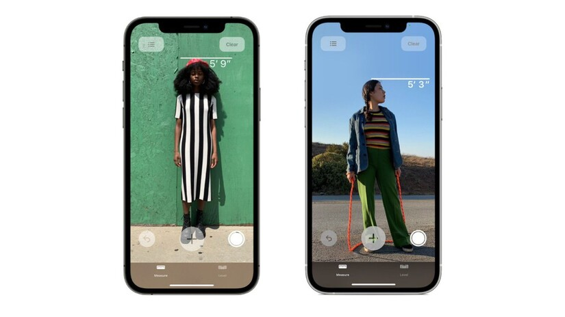 Bội đôi iPhone mới nhất của Apple đã có thể đo chiều cao con người