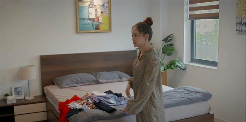 'Trói buộc yêu thương' tập 16: Bị vợ dằn mặt, Khánh vẫn đến với tình cũ