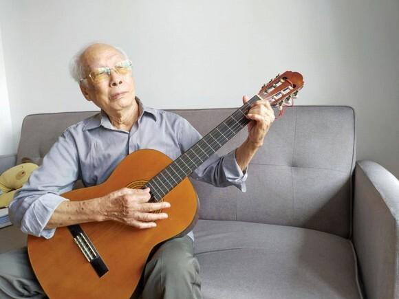 Tác giả 'Bài ca hi vọng' - nhạc sĩ Văn Ký qua đời ở tuổi 92