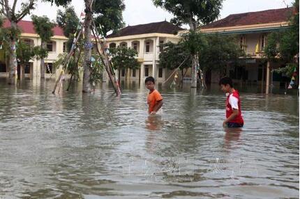 Phú Yên cho học sinh nghỉ học từ ngày 28/10 để tránh bão số 9