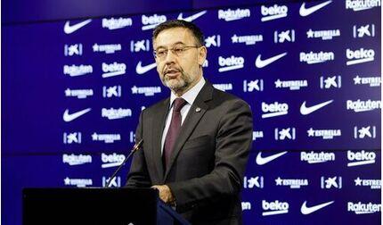 Chủ tịch Barca Bartomeu chính thức từ chức