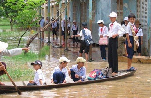 Từ chiều 28/10, học sinh Lâm Đồng nghỉ học để tránh bão số 9