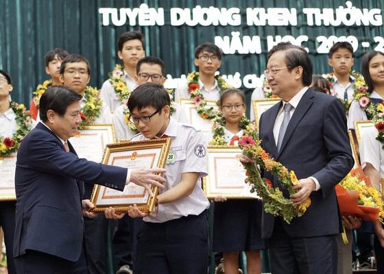 TP.HCM: Tuyên dương gần 1.000 học sinh giỏi tiêu biểu