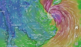 Ứng dụng Windy giúp theo dõi cập nhật Bão số 9 đầy đủ, chính xác