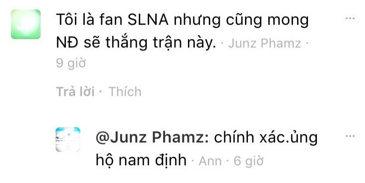 Cổ động viên SLNA mong Nam Định trụ hạng