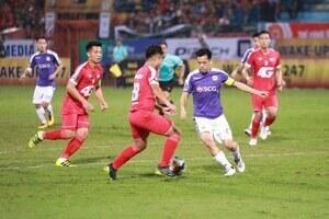 CLB Viettel hòa Hà Nội FC trên sân Hàng Đẫy