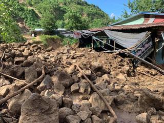 Thêm một vụ sạt lở núi ở Quảng Nam, chỉ một người thoát nạn