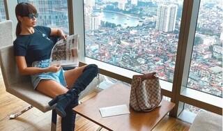 Siêu mẫu Hà Anh nổi giận khi bị mỉa mai vì không giúp miền Trung