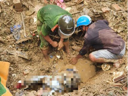 Tìm thấy thêm 1 thi thể ở Trà Leng, còn 23 người mất tích do sạt lở