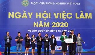 Gần 4000 chỉ tiêu tuyển dụng trong ngày hội việc làm của HV Nông nghiệp Việt Nam