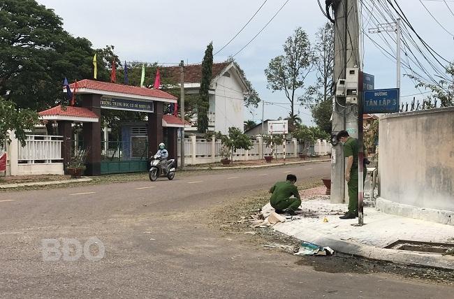 Người đàn ông từ TP HCM về Bình Định chém thông gia rồi tự thiêu