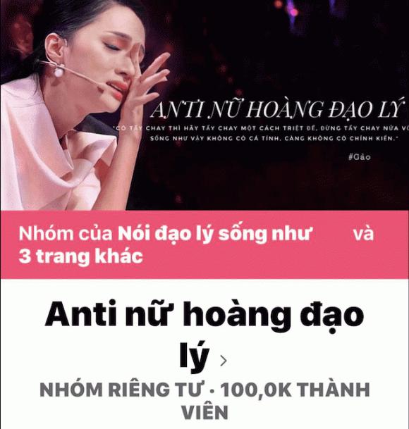 Hương Giang đanh thép yêu cầu group antifan dừng hoạt động, đề nghị cơ quan chức năng vào cuộc xử lý