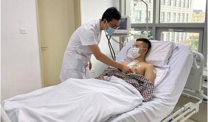 Bị tai nạn do ngủ gật khi đi xe máy, nam thanh niên thủng tim, vỡ gan
