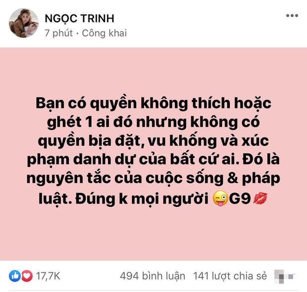 Giữa cuộc chiến Hương Giang và antifan, bạn thân Ngọc Trinh bất ngờ nêu quan điểm gây chú ý