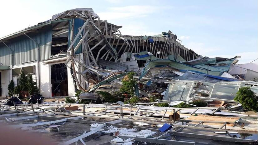 Mái nhà xưởng đổ sập khiến 5 công nhân tập đoàn Hòa Phát thương vong