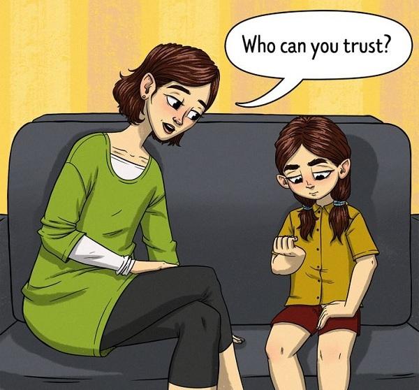 7 điều cần dạy con để tránh bị xâm hại