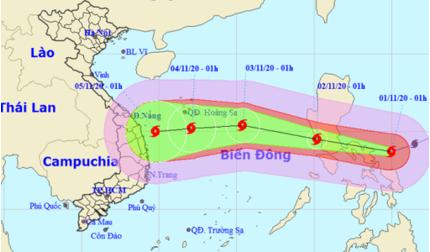Siêu bão Goni có thể giảm cấp khi đổ bộ biển Đông