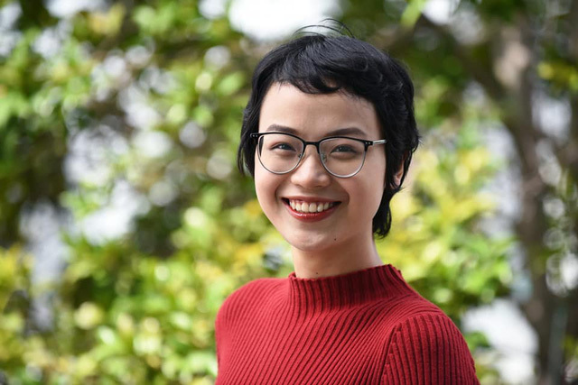 Nữ sinh Ngoại Thương, hoa khôi truyền cảm hứng Đặng Trần Thủy Tiên đã chữa khỏi ung thư vú