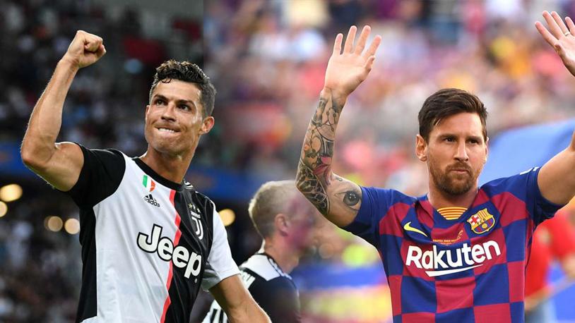 C.Ronaldo sở hữu thành tích ghi bàn vượt trội Messi