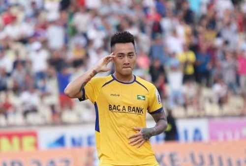 Tiền đạo Hồ Tuấn Tài gia nhập CLB SHB Đà Nẵng