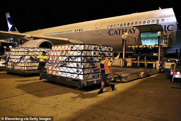 Úc chạy đua cứu 21 tấn tôm hùm sống bị chặn ở sân bay Trung Quốc.1