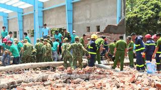 3 cán bộ ở Vĩnh Long bị truy tố sau vụ sập tường làm 7 người chết