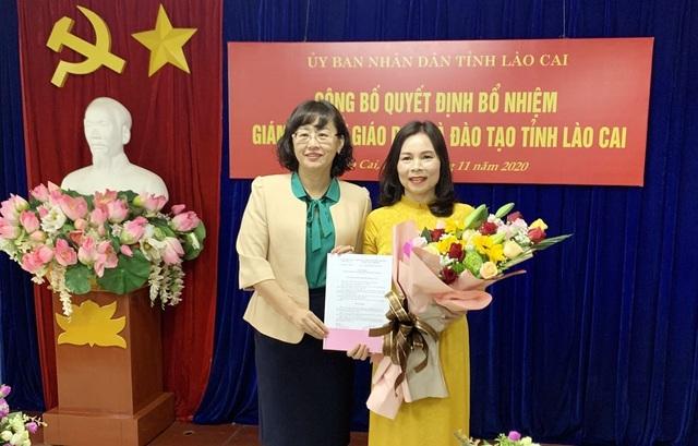 Lần đầu tiên Lào Cai có nữ Giám đốc Sở Giáo dục & Đào tạo