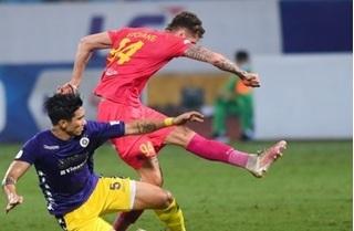 Thắng đậm Sài Gòn FC, Hà Nội sống dậy cơ hội vô địch