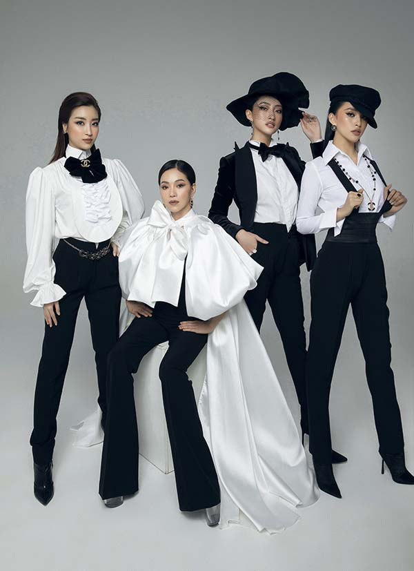 Dàn hoa hậu Tiểu Vy, Đỗ Mỹ Linh, Lương Thuỳ Linh cuốn hút với phong cách menswear đỉnh cao