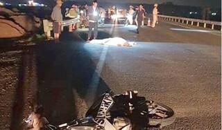 Đi xe máy từ TP.HCM về quê Nghệ An, hai anh em gặp nạn thương vong