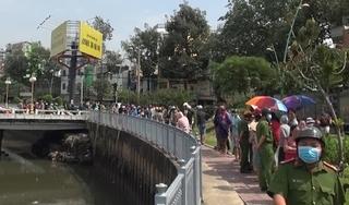 Tìm thấy thi thể người đàn ông nhảy kênh Nhiêu Lộc tự tử