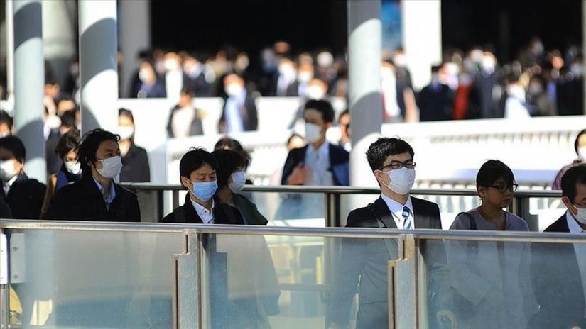 Số ca nhiễm mới trong ngày tại Nhật Bản tăng ở mức 4 con số kể từ tháng 8