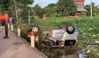 Tai nạn giao thông ở Campuchia khiến 6 người Việt thiệt mạng